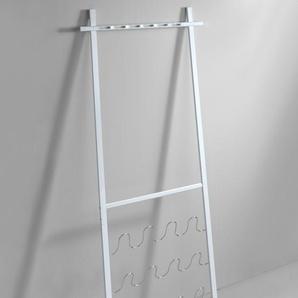 Wandgarderobe, weiß, ca. 181/75,5/6cm, heine home