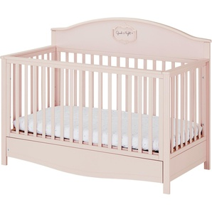 Babybett 70x140 Good Night ¦ Rosa/pink ¦ Maße (cm): B: 77,6 H: 109 Baby  Babymöbel Babybetten » Höffner