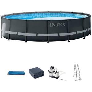 INTEX Set: Framepool »Ultra Rondo XTR«, 5-tlg., ØxH: 488x122 cm