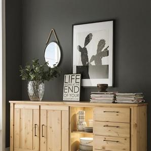 Sideboard 187x83cm Kalmar Kiefer massiv lackiert