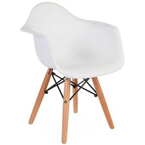 Kinder Stuhl Eames DAW - Weiß