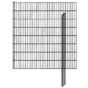 BELLISSA Mauersystem »Gabionenzaun Limes«, Anbausatz, LxT: 112x12 cm, versch. Höhen