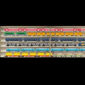 Alsino 2m 6 Fach HO Vitrine Modelleisenbahn 2E13ALR mit Nuten Modellbau Setzkasten Sammlervitrine Regal Wandregal Holzregal