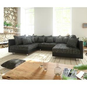 Wohnlandschaft Clovis Schwarz Modularsofa Modulsystem, Design Wohnlandschaften, Couch Loft, Modulsofa, modular