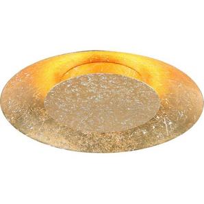 Luce Design LED-Wandleuchte Disk Gold Ø 21,5 cm EEK: A+