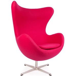 Egg Sessel Arne Jacobsen - Rosa