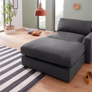 Sit&more  Chaiselongue, Inkl. Rückenkissen, hoher Sitzkomfort