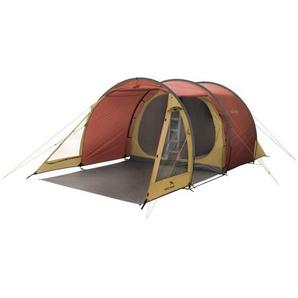 Easy Camp Tunnelzelt Galaxy 400, Zelt, gold/rot
