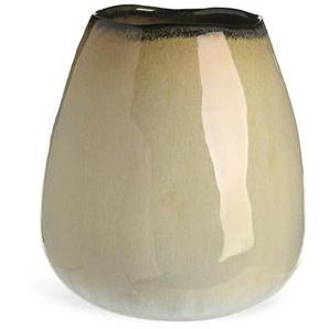 Vase Twotone, D:18,5cm x H:21cm, beige