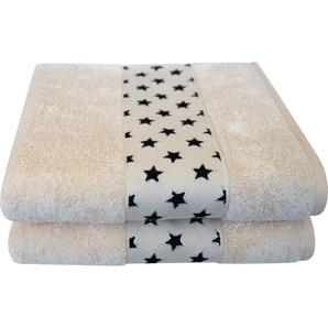 Handtücher »Sternchen«, Dyckhoff, mit niedlicher Sternchenbordüre