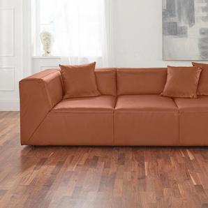 Alte Gerberei 3er Sofa »Luis«, braun