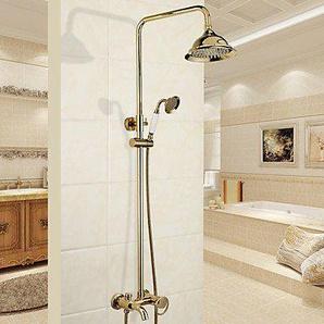 Duscharmaturen - Modern Traditionell Chrom Duschsystem Keramisches Ventil