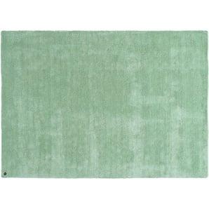 Tom Tailor Kurzflorteppich  Powder ¦ grün ¦ 100 % Polyester, Synthethische Fasern ¦ Maße (cm): B: 50 Teppiche  Wohnteppiche » Höffner