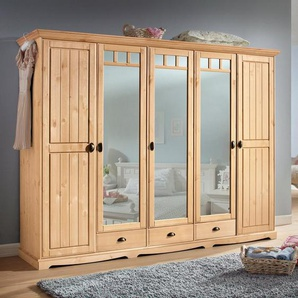 Home affaire Kleiderschrank »Claudia«, beige
