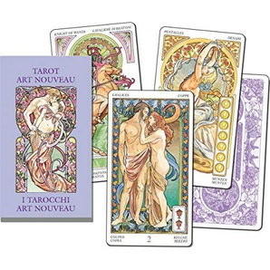 Lo Scarabeo - Karten: Art Nouveau Tarot klein ---