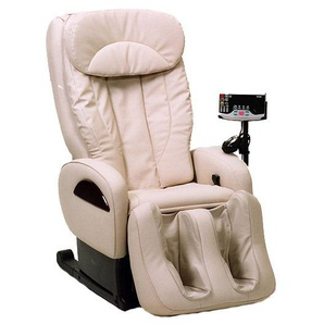 High Class Massagesessel Sanyo DR 7700, creme