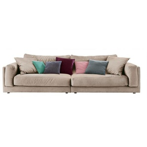 Ole Gunderson Big-Sofa Stoffbezug Sand ca. 290 x 85 x 107 cm