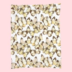 Butterflies-Fleecedecke