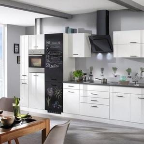 HELD MÖBEL Küchenzeile mit E-Geräten »Trier«, Breite 380 cm