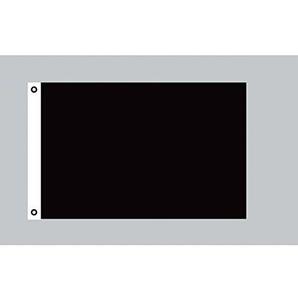 Flagge 90 x 150 : Schwarz / Trauerflagge