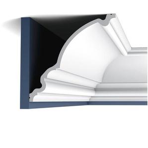 Eckleiste Orac Decor C836 XTERIO Fassadenleiste Fassadenstuck Zierleiste Zeitloses Klassisches Design weiß 2m