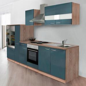 k chen in blau preise qualit t vergleichen m bel 24. Black Bedroom Furniture Sets. Home Design Ideas