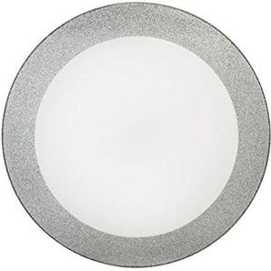 Croydex Moderne Edelstahl abgewinkelt Haltegriff mit Unterputzarmaturen, Plastik, Silber Glitter, 2 x 39.5 x 39.5 cm