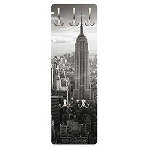 Wandgarderobe - Manhattan Skyline, Größe:139cm x 46cm