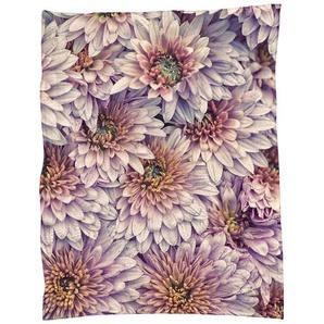 Wheeping Chrysanthemums - Fleecedecke