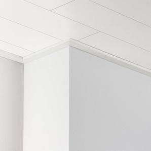 PARADOR Deckenleiste »DAL 3 - Weiß Seidenmatt Dekor«, 2570 x 34 x 12 mm
