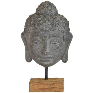 Buddha Deko in Grau auf Rechnung