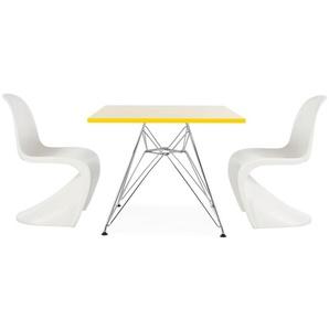 Kinder Tisch Eiffel - 2 Stühle Panton