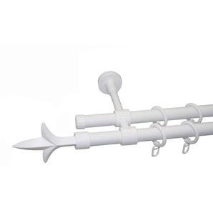 Garesa Gardinenstange »Lance ø 20 mm«, weiß