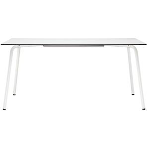 Thonet - S 1040 All Seasons Tisch - weiß - weißes Laminat - 160 x 100 cm