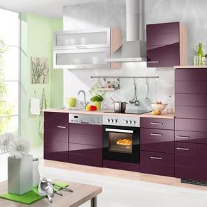 HELD MÖBEL Küchenzeile ohne E-Geräte »Emden, Breite 280 cm«