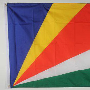 Flagge Fahne ca. 90x150 cm : Seychellen Nationalflagge Nationalfahne
