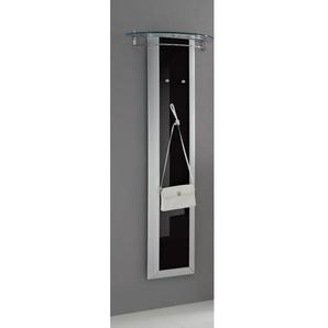 MONDO Garderobe in Schwarz Hochglanz ca. 62 x 170 x 30 cm