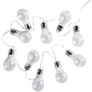 Leuchtgirlande 10 Glühbirnen L135
