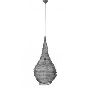 Design Pendelleuchte in Tropfenform Metallgewebe