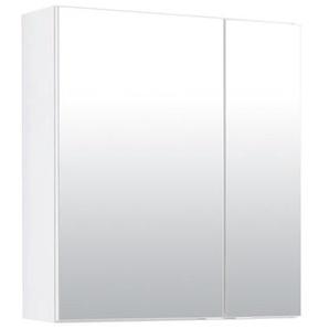 60 cm x 69 cm Spiegelschrank Miami mit Beleuchtung