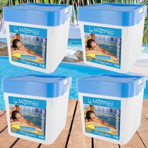 Miganeo® Chlortabs 200g organisch, 4 x 5 kg, Langzeitchlortabletten
