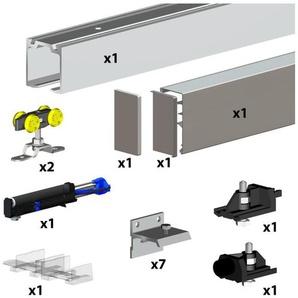 Schiebetürbeschlag SLIDUP 160 PREMIUM, 300 cm, für 1 Holztür bis 60 kg - SLIDUP BY MANTION