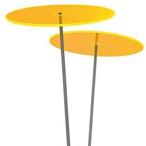 Cazador del Sol ® Medio | Duo | 2 Stück Sonnenfänger-Scheiben gelb 1,20 Meter hoch - das Original