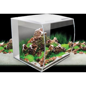 Fluval Aquarium-Set Flex LED 57 l Weiß