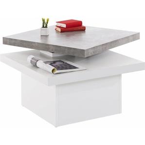 INOSIGN Couchtisch mit drehbarer Tischplatte