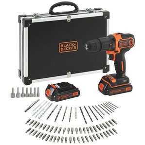 Black & Decker: Decke, Orange, Schwarz, B/H/T 42 35 12