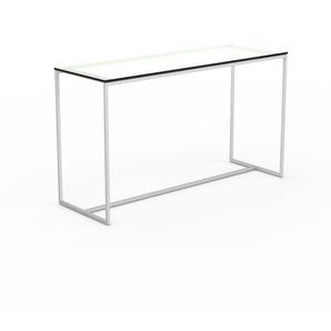 Konsolentisch Kristallglas klar - Eleganter Konsolentisch: Beste Qualität, einzigartiges Design - 121 x 71 x 42 cm, konfigurierbar