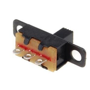 20Stück 5V 0,3A Mini Größe schwarz SPDT Schiebeschalter für kleine DIY Power Elektronische Projekte
