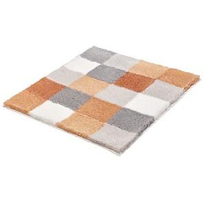 Kleine Wolke Textilgesellschaft Badteppich Caro 55x 65cm, Polyacryl, lachs, 55x 65x 2,5cm