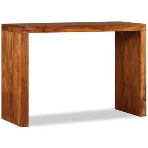 Konsolentisch Massivholz mit Palisander-Finish 110 x 40 x 76 cm - VIDAXL